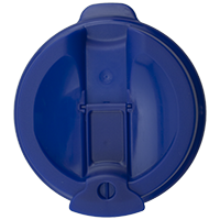 100mm Flip Lid - Dark Blue