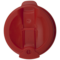 100mm Flip Lid - Red