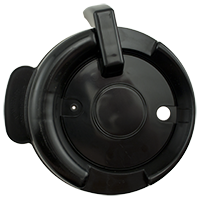 126mm Swivel Lid - Black