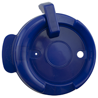 126mm Swivel Lid - Dark Blue