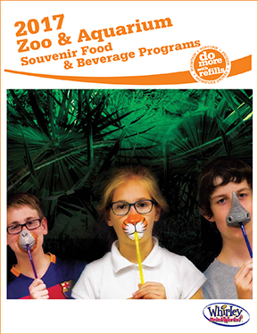 Image of refillable souvenir drink cups and a food and beverage program for a zoo