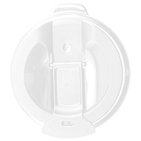 87mm Flid Lid - White
