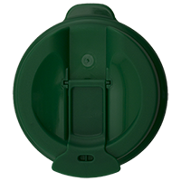 100mm Flip Lid - Green