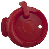 126mm Swivel Lid - Red