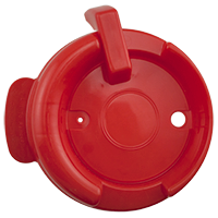 126mm Swivel Lid - Red 186 E/P Tint