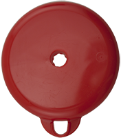 100mm ZS Lid - Red