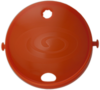Shockwave Lid - Orange 811