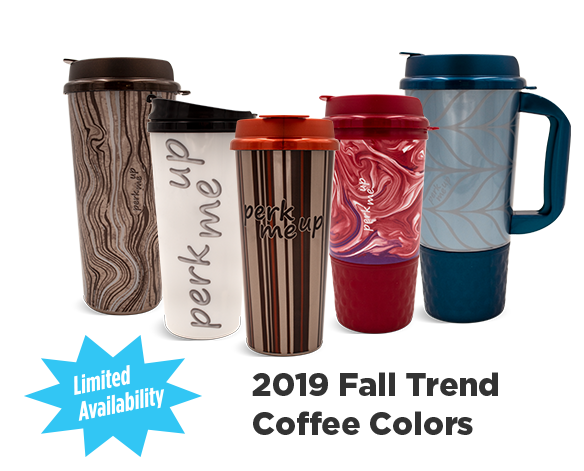 2019 Fall Coffee Trend Colors