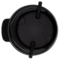 111mm Swivel Lid - Black