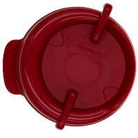 111mm Swivel Lid - Maroon