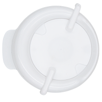 111mm Swivel Lid - White