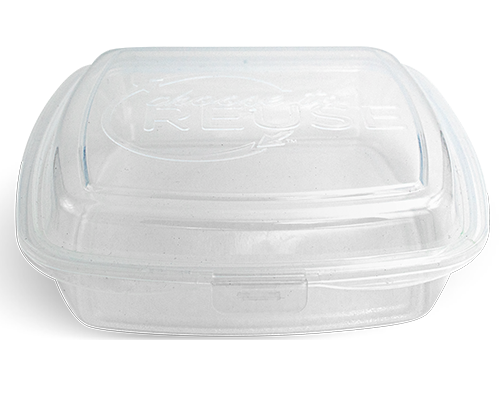 Flat Bottom Meal Container