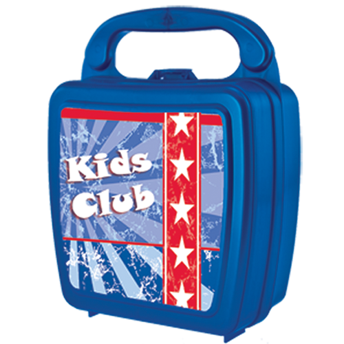 Medium Kids Lunch Box with Curved Handle