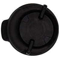 100mm Swivel Lid - Black