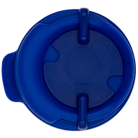 100mm Swivel Lid - Dark Blue