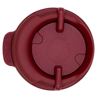 100mm Swivel Lid - Electron Burgundy