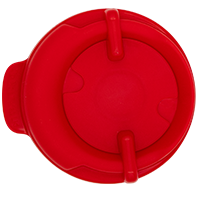 100mm Swivel Lid - Red