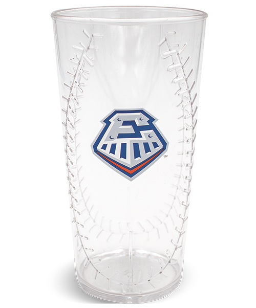 20oz Baseball Embossed Tumbler