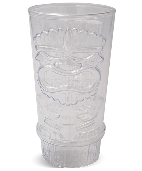 16oz Blow-Molded Tiki Tumbler