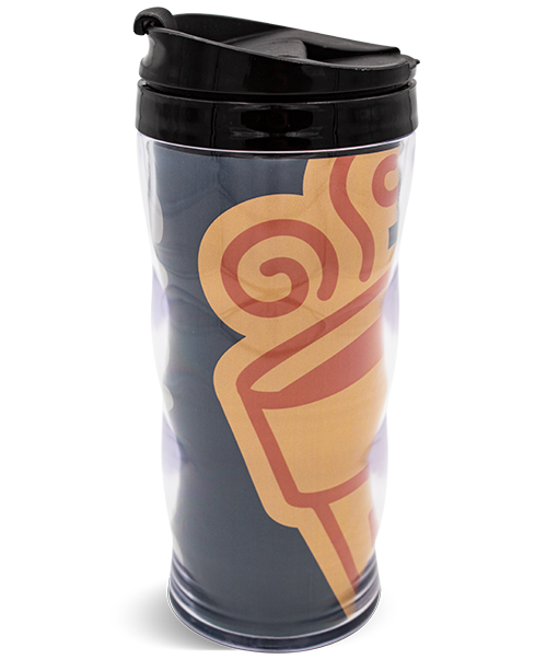 16oz Premium Curvy Double Wall Tumbler with Paper Insert