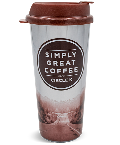 16oz Double Wall Hot Beverage Tumbler