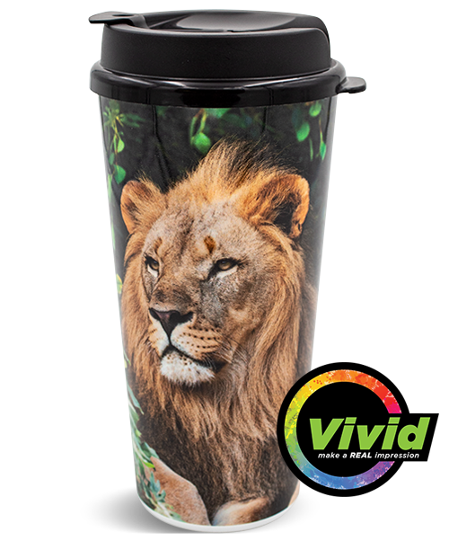 24oz Digital Printed VIVID Collection Double Wall Tumbler