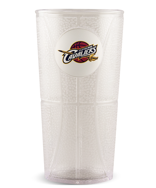 20oz Basketball Embossed Tumbler
