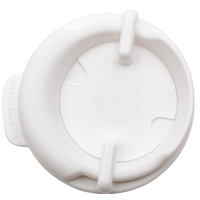100mm Swivel Lid - White